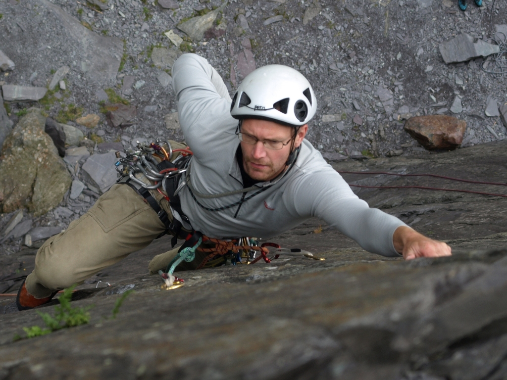 Trad Climbing Courses and Adventures