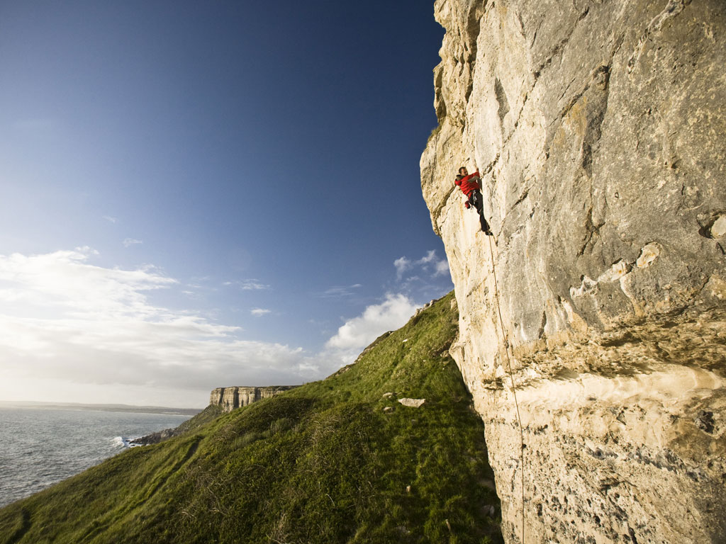 Sport Climbing Courses in Portland and The Peak District