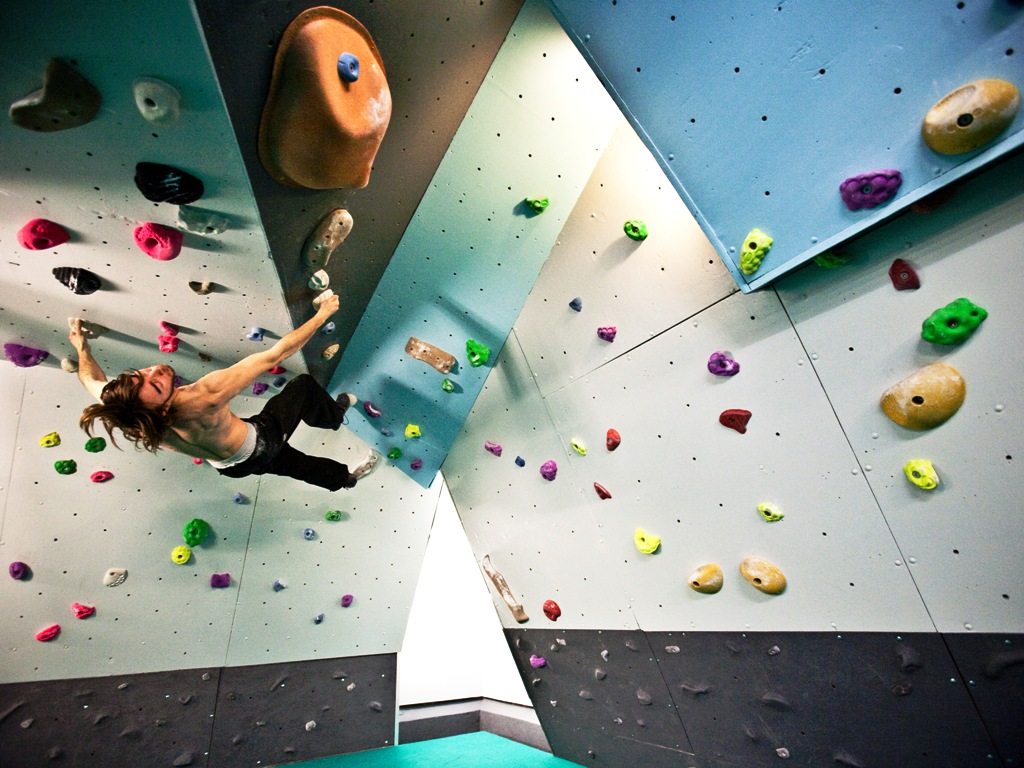 Indoor Rock Climbing Courses and Coaching