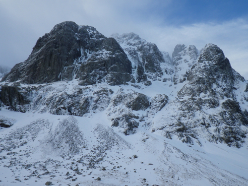 Castle Buttress on Ben Nevis