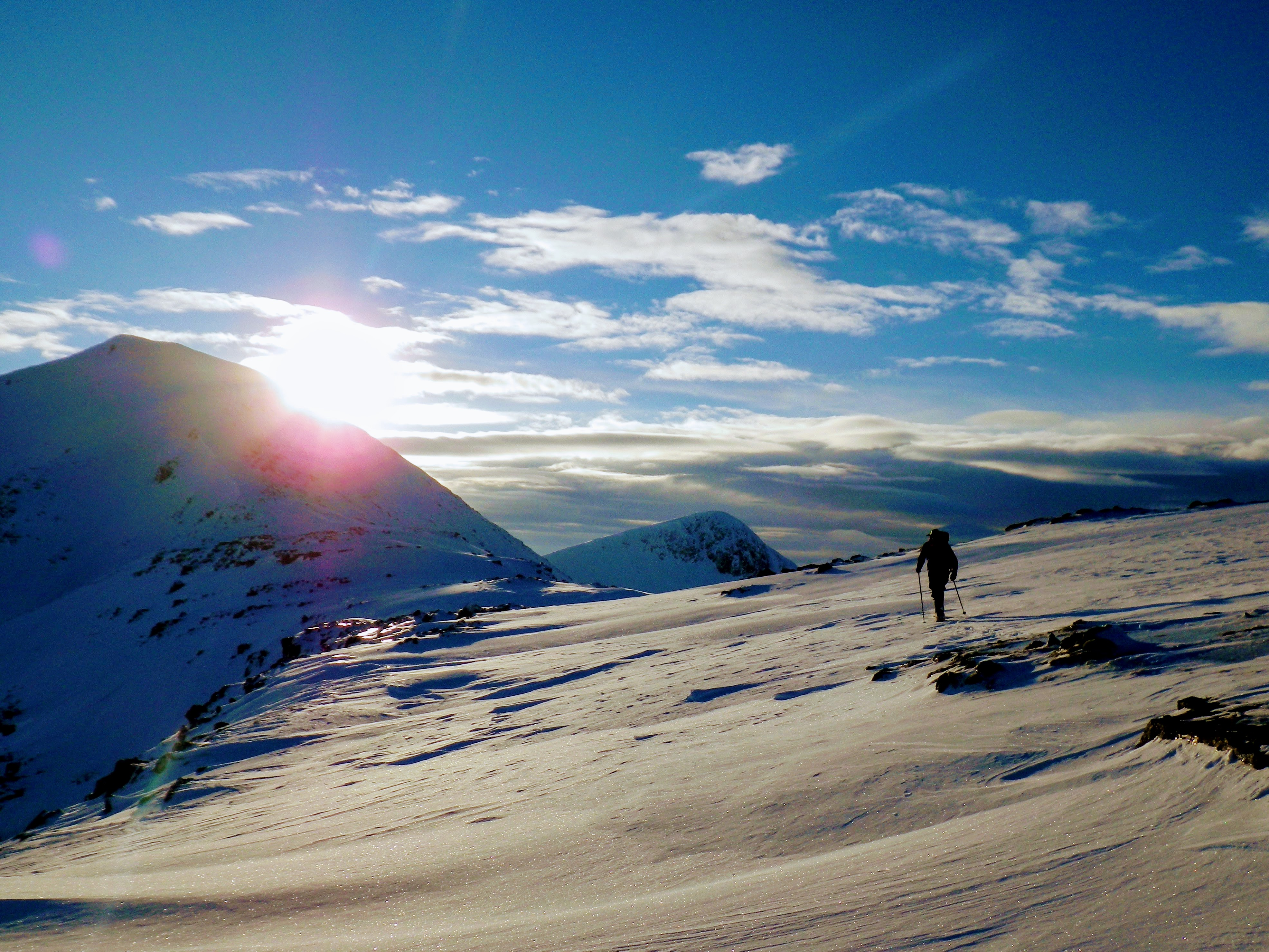 Winter Mountain Walking